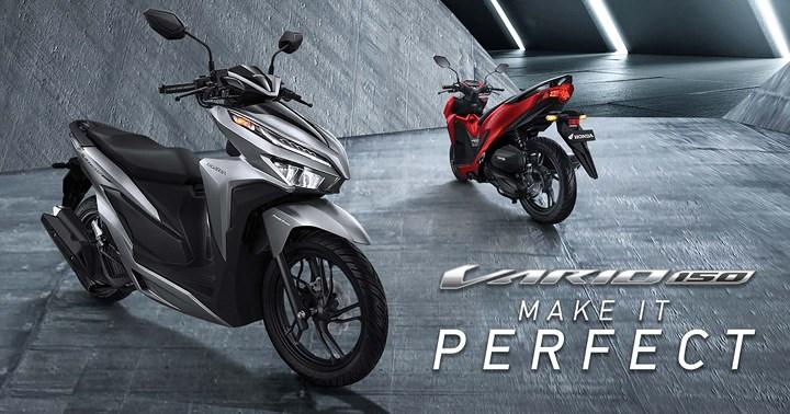 Honda Vario 2018 - Phiên bản màu đen nhám đã xuất hiện ở Việt Nam