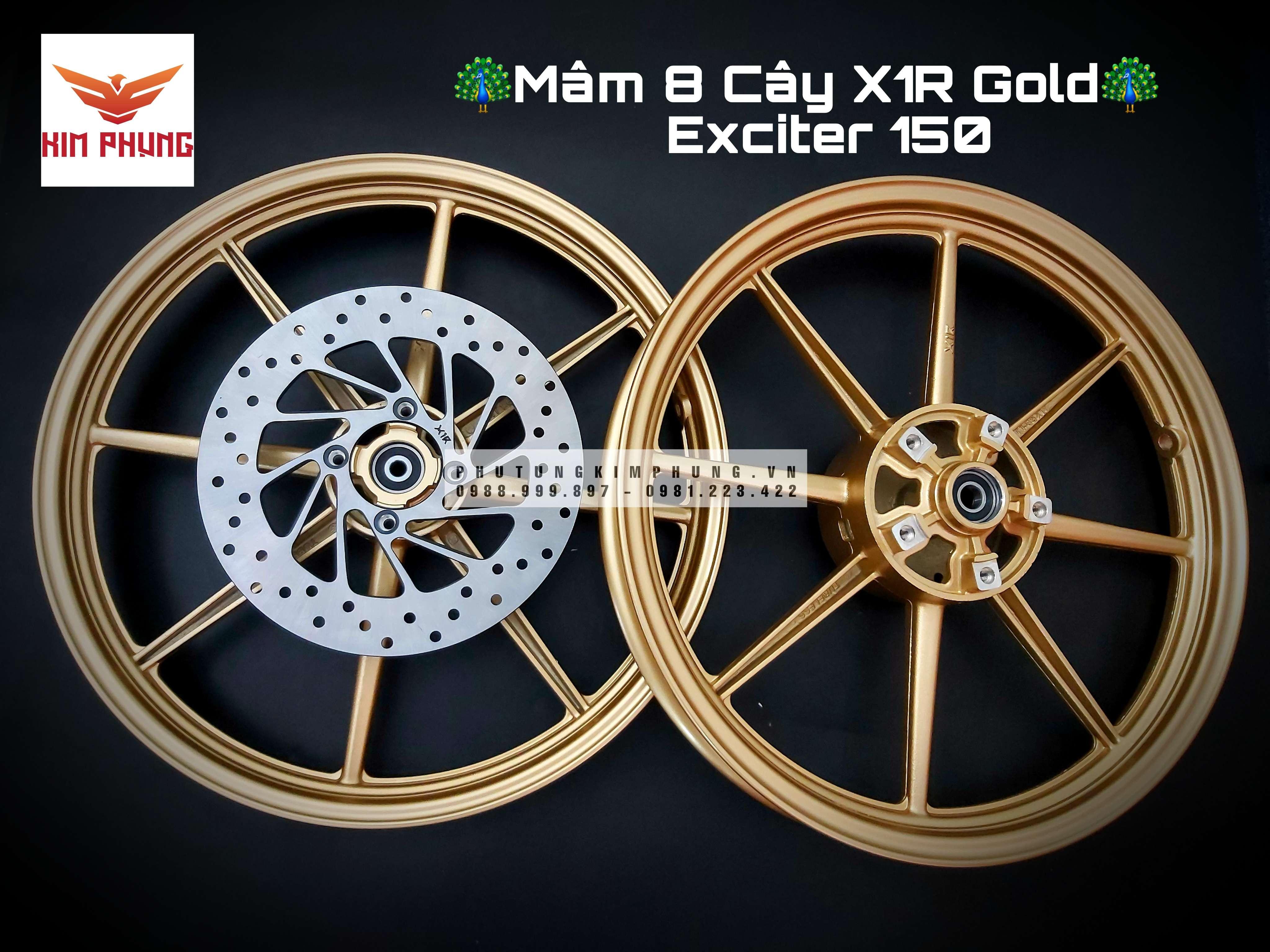 MÂM 8 CÂY EXCITER 150 X1R